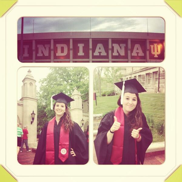Hoosier forever!!! #IUgrad13 #indianauniversity #indiana #IU #hoosiernation pic.twitter.com/UxDy7JwqB0