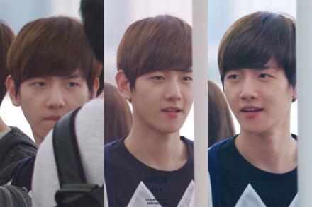 I don't think baekhyun and V look alike ?   allkpop Forums