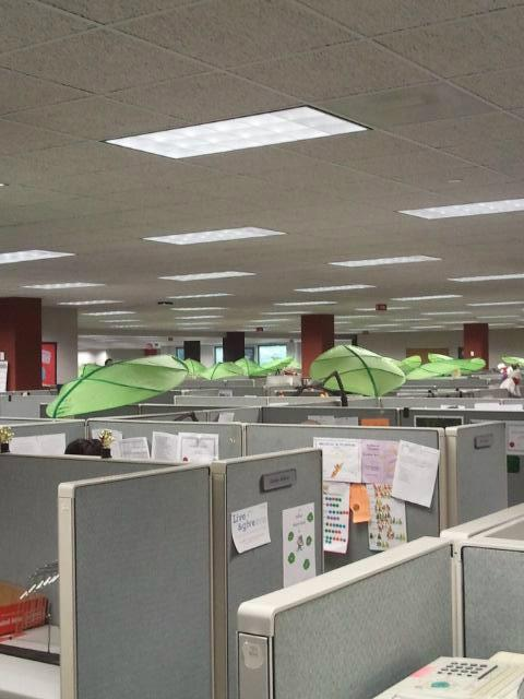 IKEA ORLANDO on Twitter  RT @IKEA_Charlotte LOVE how some bank employees put our LOVA bed canopies above their cubicles! #business #work ... : work canopies - memphite.com