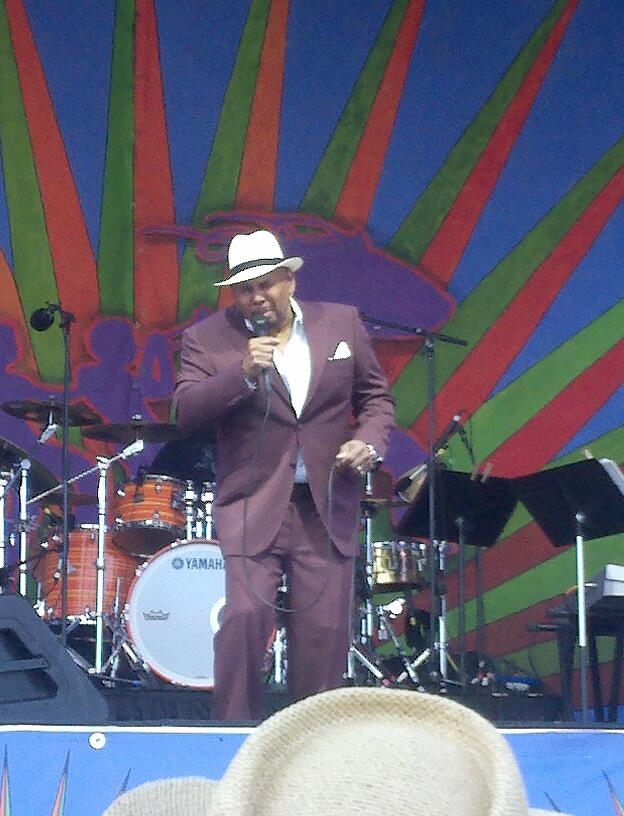 Twitter / MargaretOrr: Aaron Neville is still magical! ...