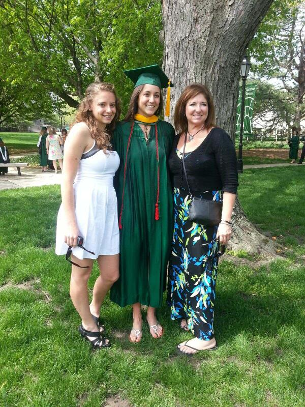 #IWU2013 MT @ihatebitchezzz: ANDDD she's done. With Illinois Wesleyan. Time for Loyola med school. #ProudOfYouSeester pic.twitter.com/qYvX9px1r5