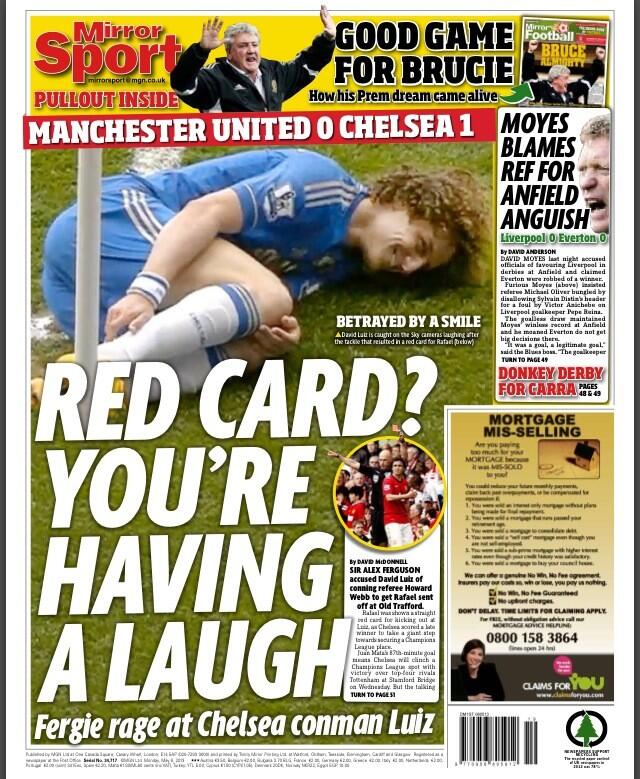 Chelseas Luiz dubbed Swan Fake by Fergie, Fernandinho wants Man City move & Liverpool look at Douglas
