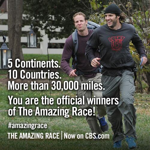 The Amazing Race on Twitter:
