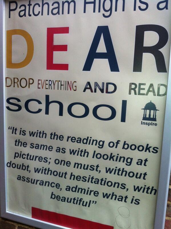 @literacychat #literacychat whole school reading environment 2 pic.twitter.com/SeRrpkyyvO