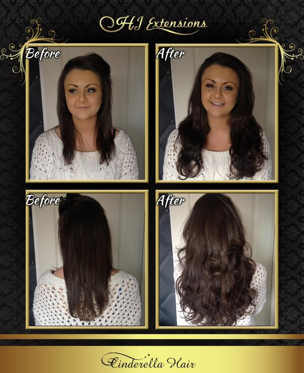 Hayley Bland On Twitter B4 After From Hj Extensions