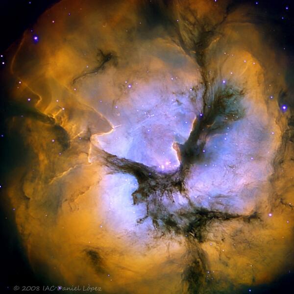 Image credit: Daniel Lopez (Observatorio del Teide), via http://www.iac.es/.