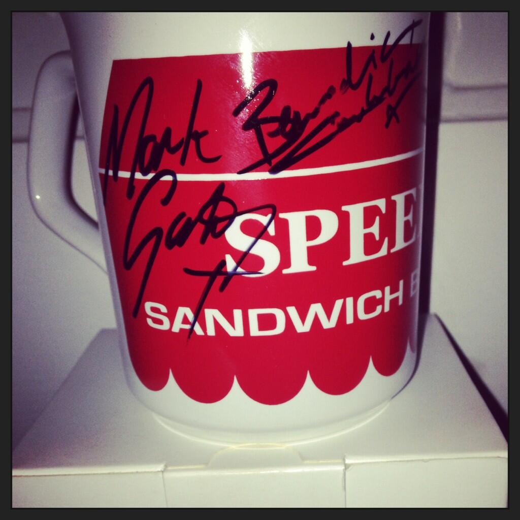 Twitter / speedyscafe: Thanks to @markgatiss & ...
