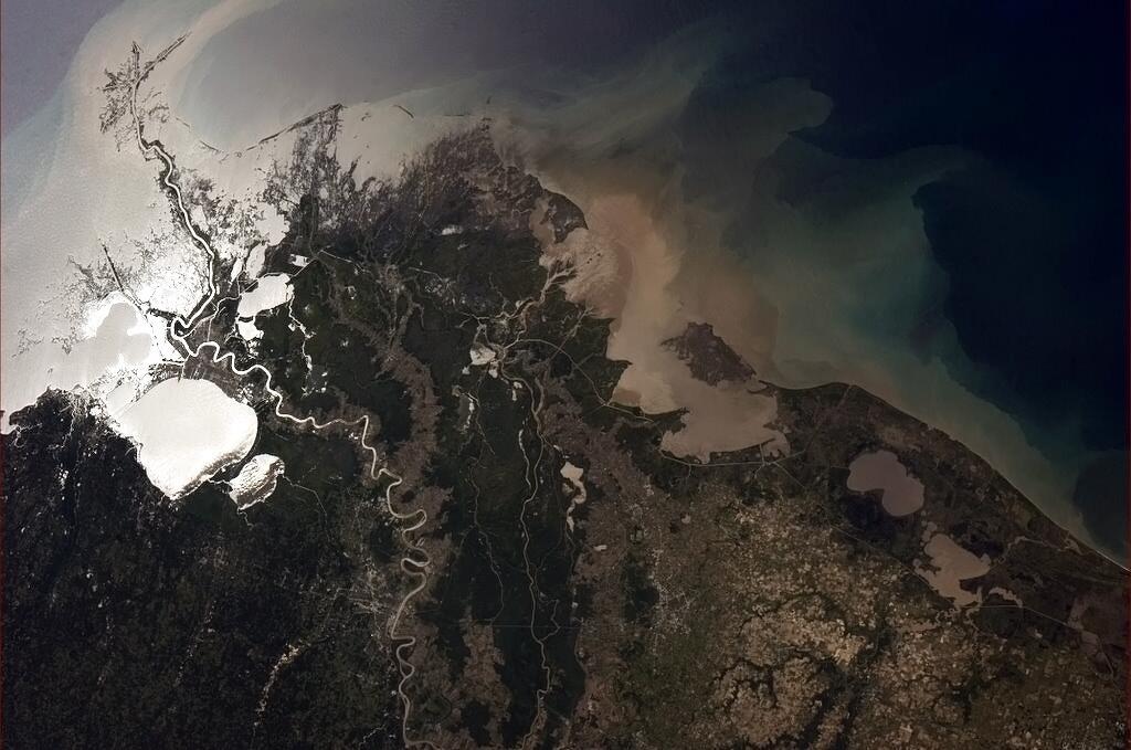 Twitter / Cmdr_Hadfield: Mississippi delta - heartland ...