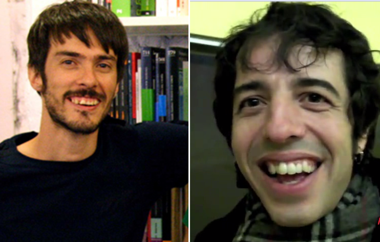 Premio a la mejor dentadura. Dos aspirantes Pucho vs. Marc Ros (Sidonie). RT si Pucho, FAV si Marc http://t.co/xby3dFE2sM