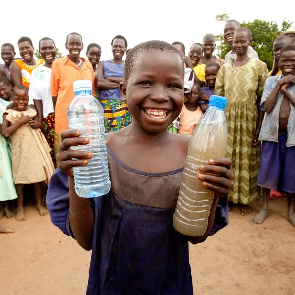 Twitter / charitywater: There's a world of difference ...