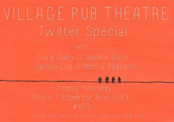 Village @PubTheatre this Friday. If you haven't been yet then WHY THE HECK NOT? Look at the line up this month! #VPT pic.twitter.com/pPQNBkcXh2