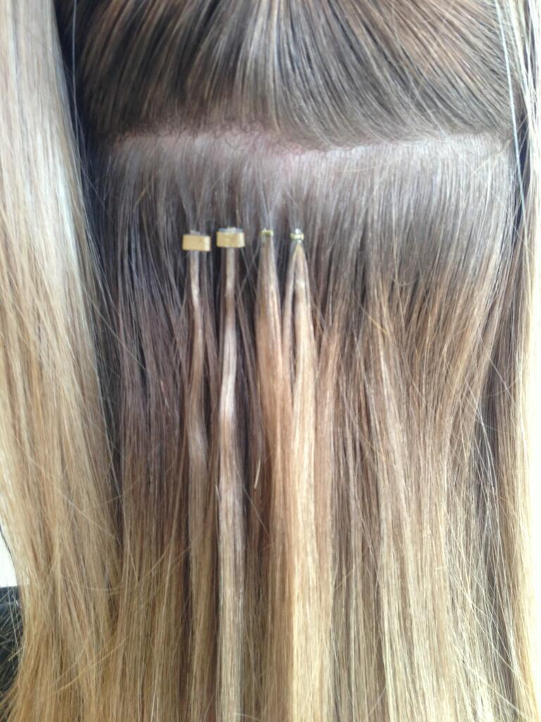 Nano Tip Hair Extensions Micro Rings - Remy Indian Hair