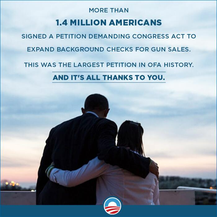 Twitter / BarackObama: 1.4 million people say the ...