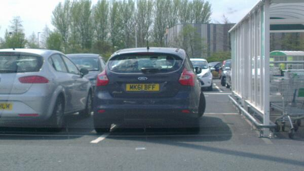 MK61 BFF is an Inconsiderate Parker