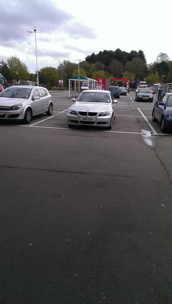 J88 GJG is an Inconsiderate Parker