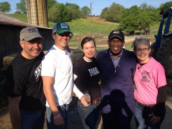 "Hatcher Family Dairy on Twitter: ""Al Roker with the ..."
