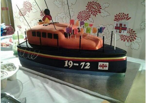 RNLI on Twitter Have you ever made or seen a lifeboat cake Were