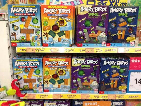 Peter Vesterbacka On Twitter Lots Of Angry Birds Board Games At