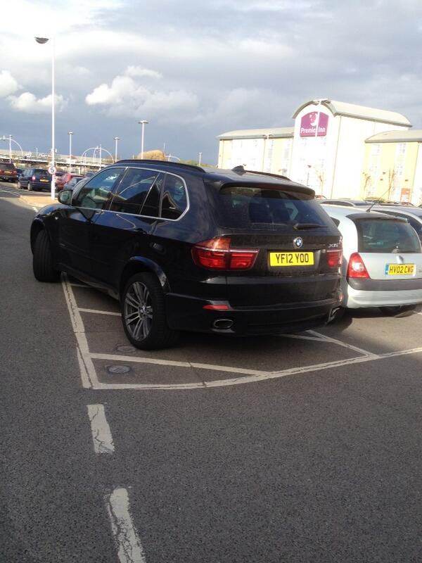 YF12 YOO is an Inconsiderate Parker