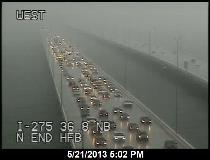 Twitter / TampaBayTraffic: HOWARD FRANKLAND BRIDGE: PHOTO ...