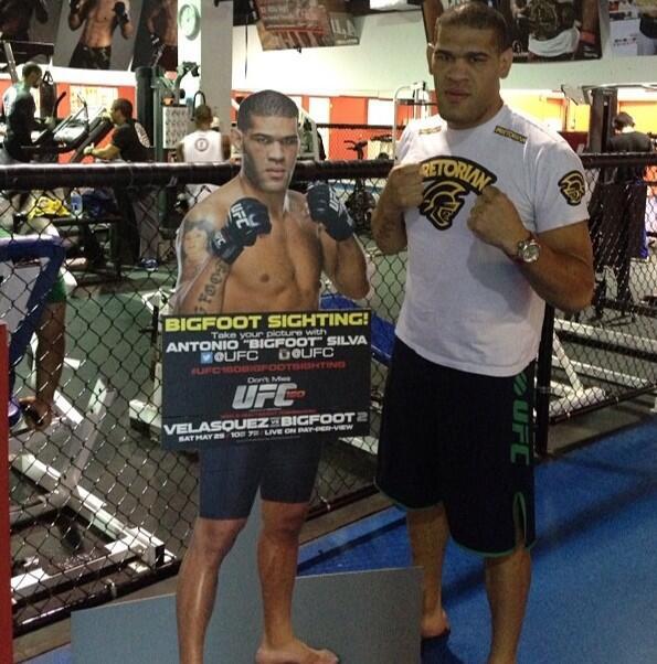 Twitter / ufc: #UFC160Bigfootsighting! RT ...