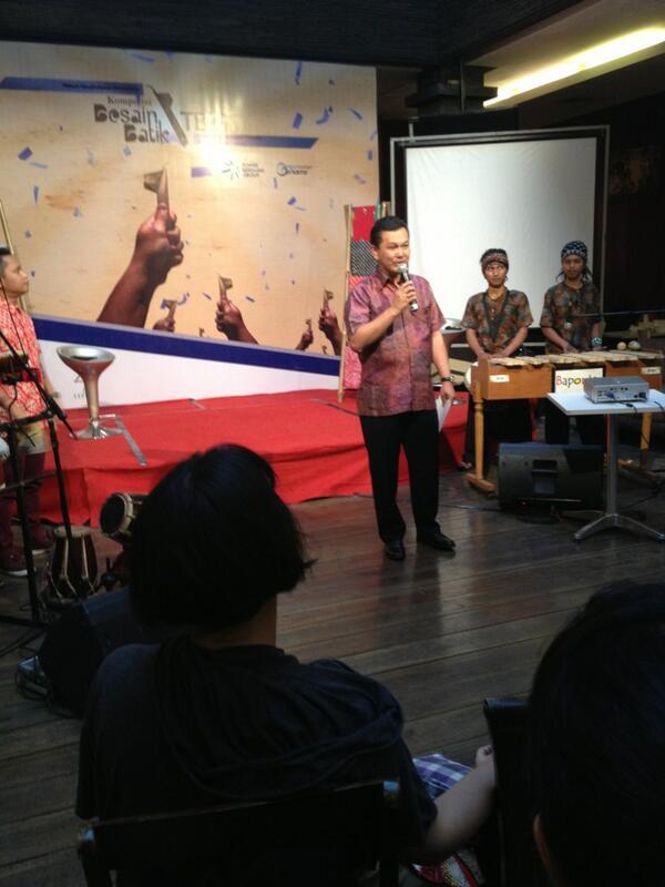 Sambutan dari Pak Herman Setya Budi @hermansbudi selaku Presiden Direktur Tower Bersama Group #BatikTBiG