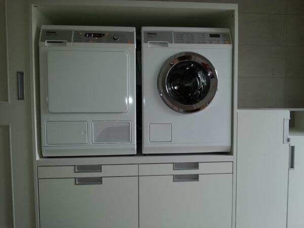 Kast Wasmachine Droger : Wasmachine meubel inspirational wasmachine en droger wegwerken