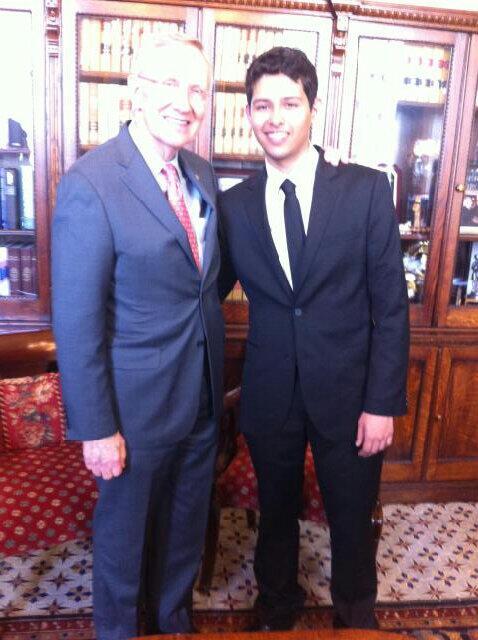 Twitter / SenatorReid: I told Texas DREAMer Eric ...