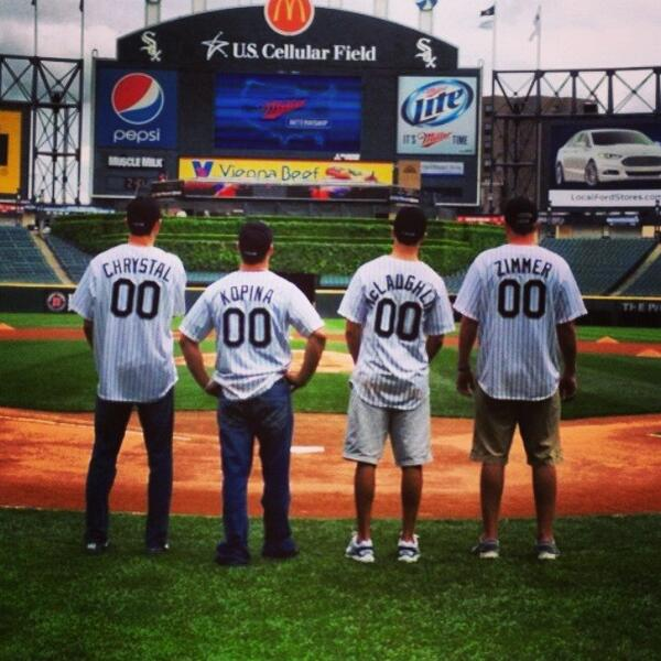 @John_Mac26 @Zimmer_Monster @Will_Chrystal #ItsMillerTime at U.S. Cellular Park #WhiteSox pic.twitter.com/SVoBwgGSf6