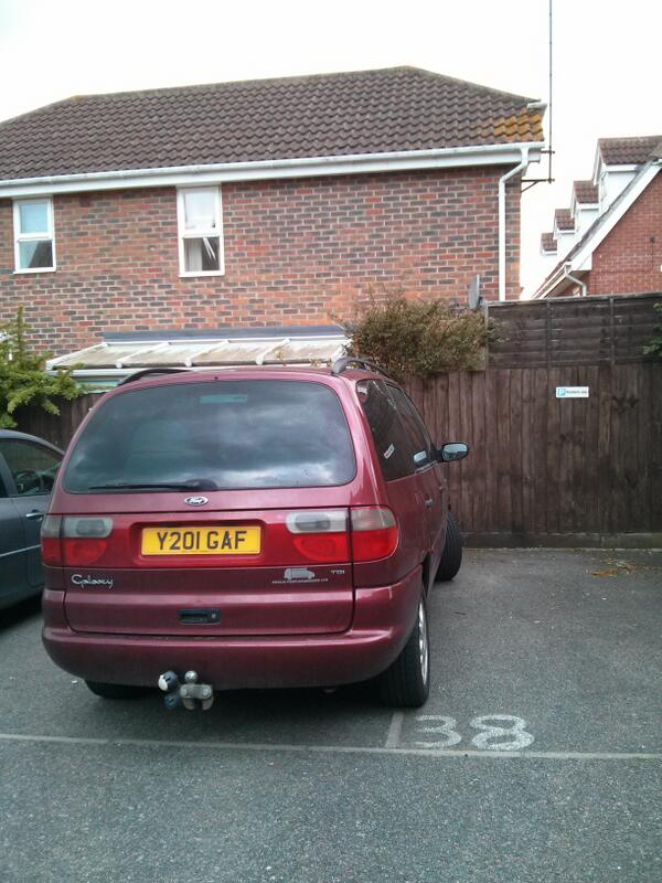 Y201 GAF is an Inconsiderate Parker