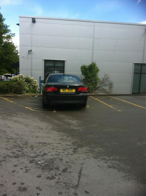 N5 SYE is a crap parker