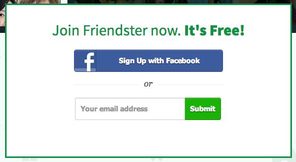Www friendster com sign up