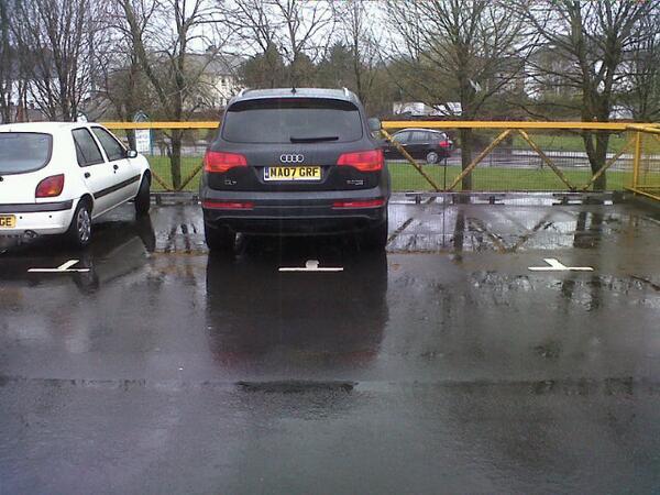 MA07 GRF displaying Selfish Parking
