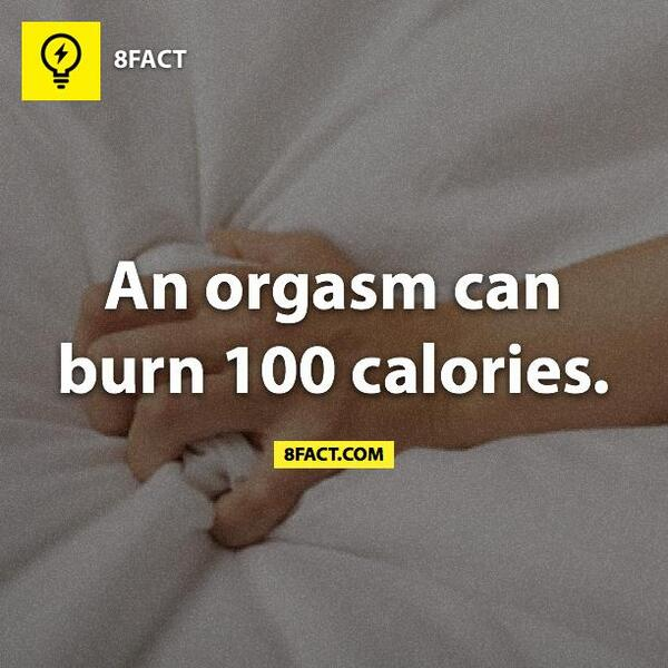 How many calories does an orgasam burn