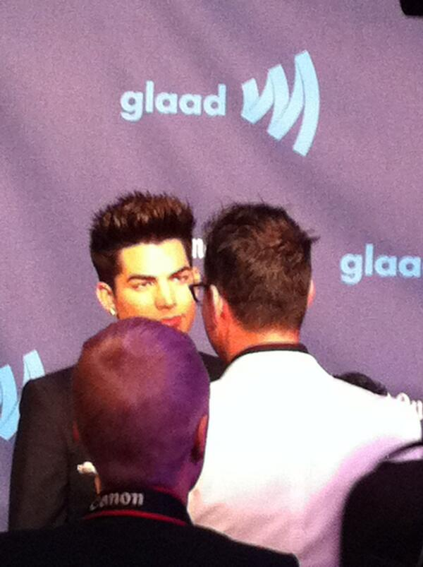 ADAM AT THE GLAAD AWARDS BKBwN7JCcAABqAD