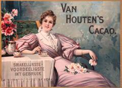 Ab 15 Uhr #Kitsch im Käthe-Kollwitz-Museum: Van Houten's Cacao, Amsterdam 1890/95 #kmufe #imt13 pic.twitter.com/jD4DXTmKi0