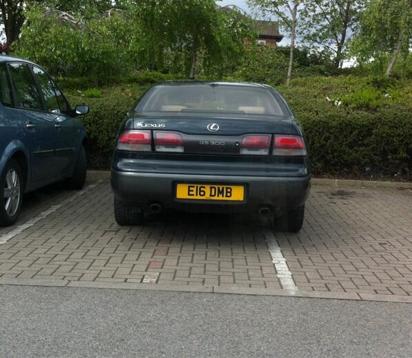 E16 DMB displaying Inconsiderate Parking