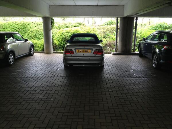 CV51 NNU is a crap parker