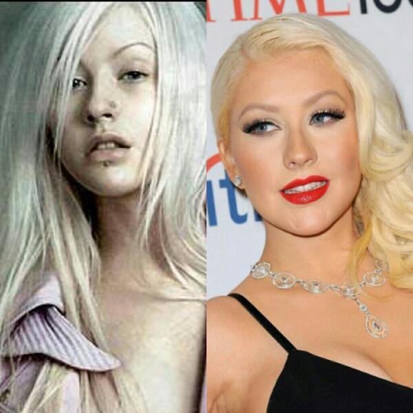 Christina Aguilera Without Makeup 2013 - Makeup Now