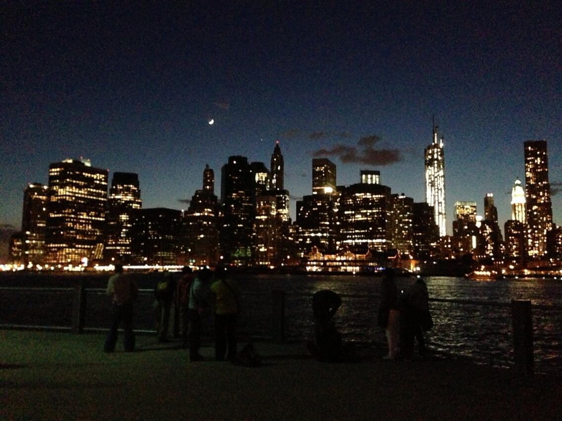 Twitter / xo_Sydneey: NYC from Brooklyn coast at ...