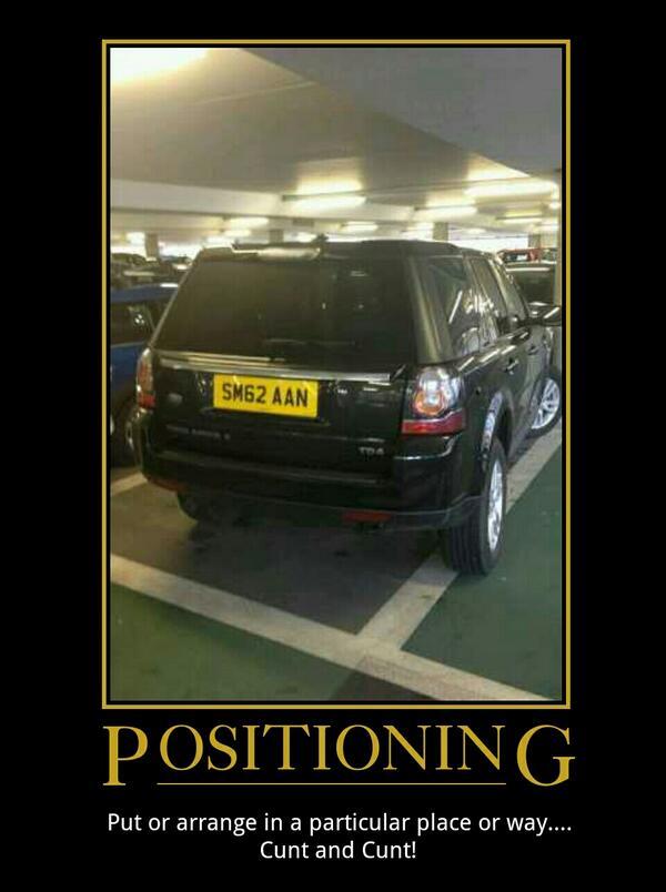 SM62 AAN displaying Inconsiderate Parking