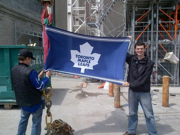 Thumbnail for Toronto Maple Leafs fly atop Toronto