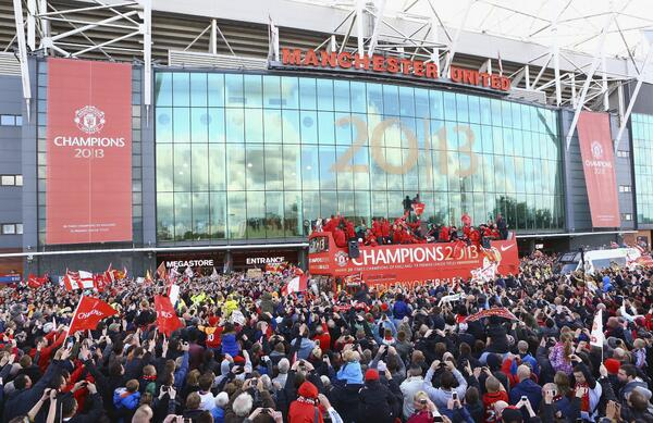 Sir Alex Ferguson has one last dig at Liverpool on the Manchester United bus parade