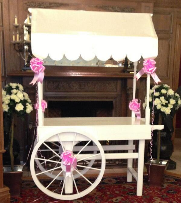 Bowlicious On Twitter Our Diy Candy Cart We Love These Pink Bows That Lovely Bride Added Candycart Wedding Http T Co Lvsirbulx2
