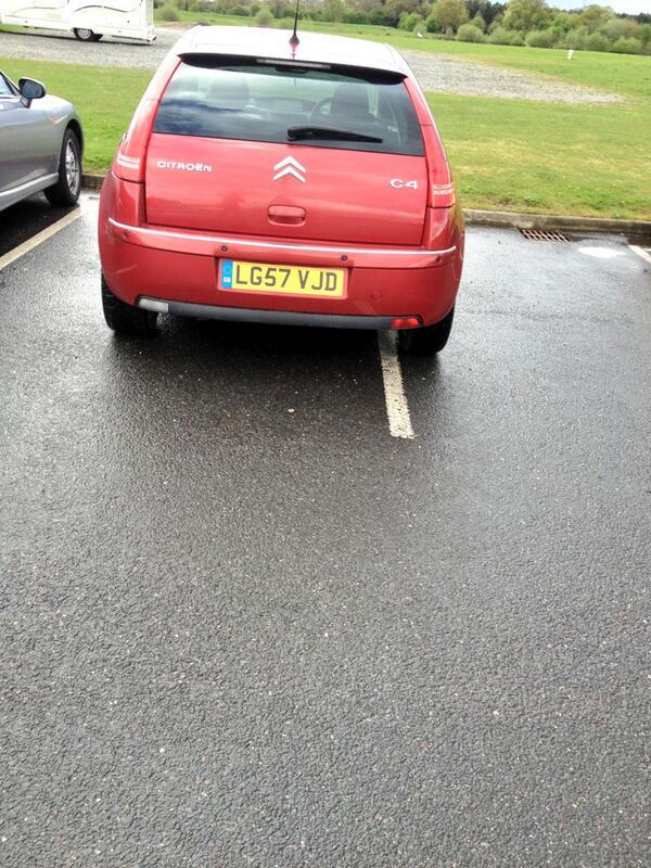 LG57 VJD displaying crap parking