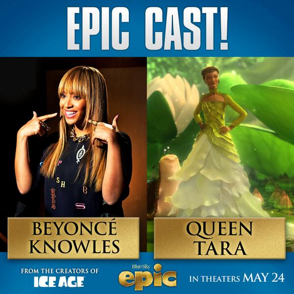 Epic The Movie On Twitter Queen Bey Is The Voice Of Queen Tara In