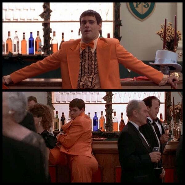 Dumb And Dumber Quotes | Dumb Dumber Quotes On Twitter I M Gonna Hang By The Bar Put Out