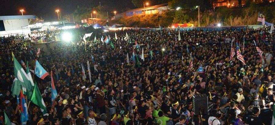 Another massive rally - this time in Kuantan