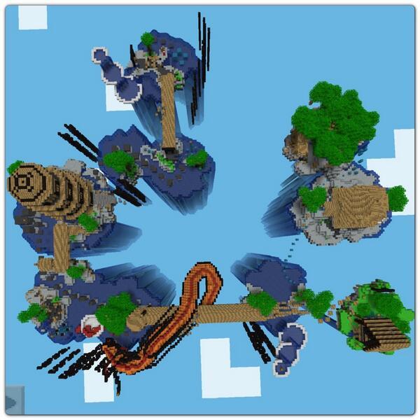 Minecraft PE Worlds: Alice Madness Returns Parkour