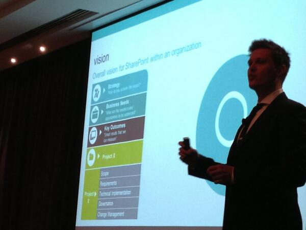 Michal Pisarek talks intranet vision